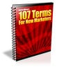 Thumbnail 107 Terms for New Marketers (MRR)