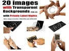 20 images with Transparent Backgrounds with PLR Rights