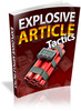 Thumbnail Explosive Article Tactics (Personal Use Rights included)