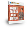 Thumbnail Online Source Code Editor (Master Resell)
