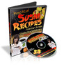Sushi Recipes Without Raw Fish, Ebooks and Videos, 1.3GB