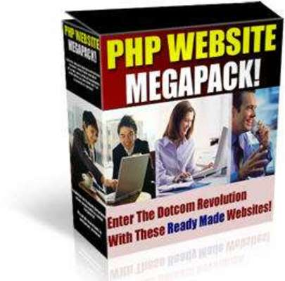 Product picture PHP WEBSITE SCRIPTS MEGAPACK