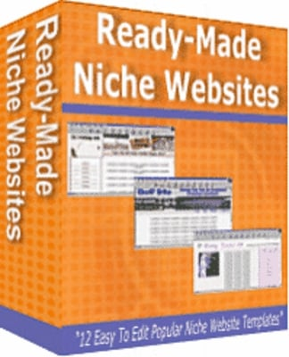 Product picture Niche Website Templates