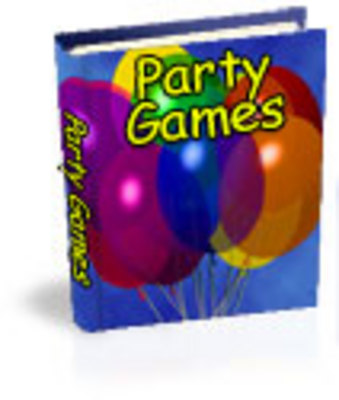 Product picture Collection of Family Party Games eBooks