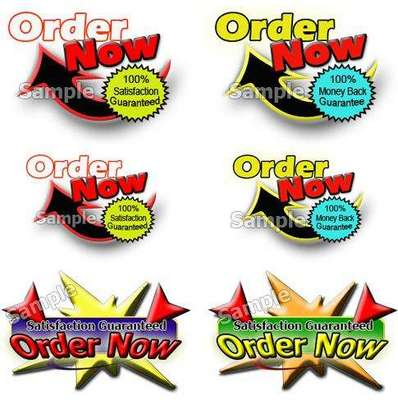 Product picture Order Now Graphics Package with resale rights