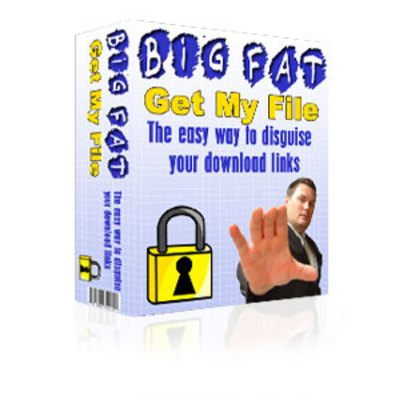 Product picture The Big Fat Get My File Download Script