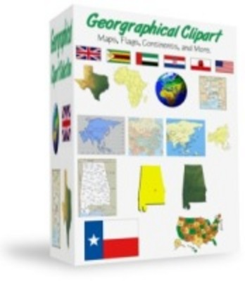 Product picture Geographical Clipart Collection - Over 1700 images