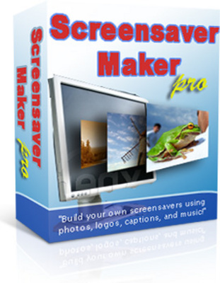 Product picture Screensaver Maker Pro (PLR)