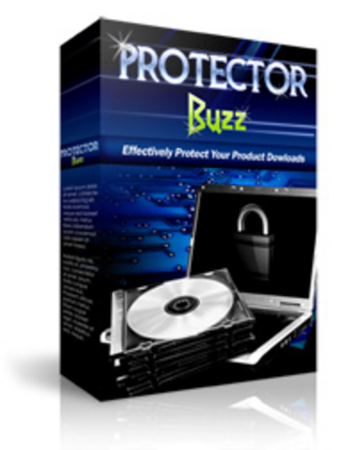 Product picture Protector Buzz (includes Master Resale Rights)