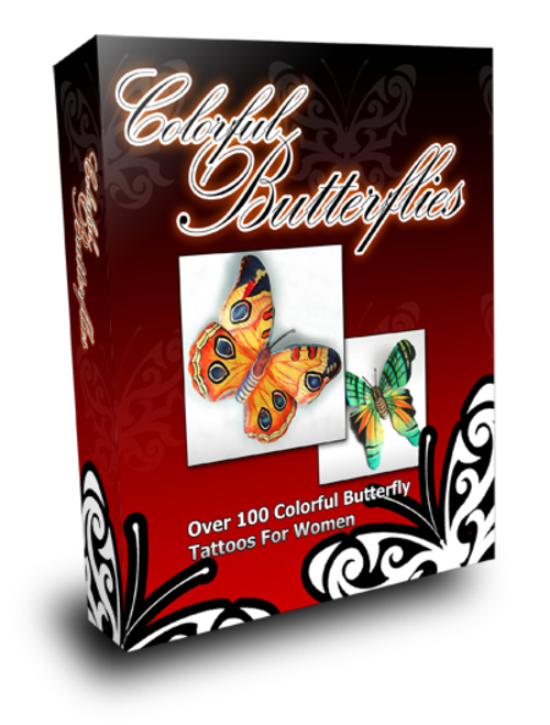 Product picture Colorful Butterflies, MRR included