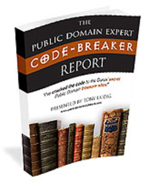 Product picture The Public Domain Expert Code Breaker Report
