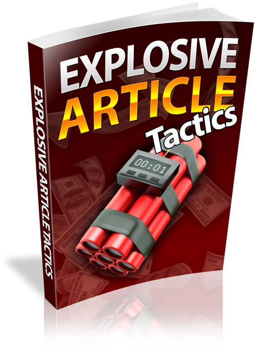 Product picture Explosive Article Tactics (Personal Use Rights included)