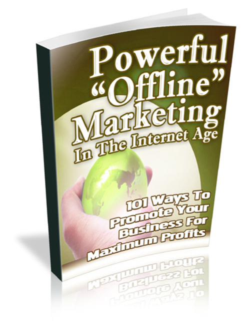 Product picture Powerful Offline Marketing (Master Resell)