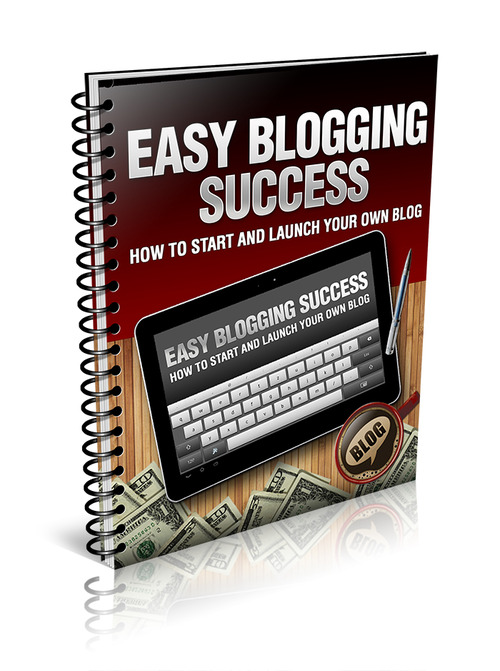 Product picture Easy Blogging Success