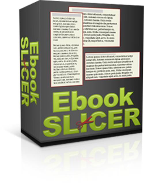 Product picture Ebook Slicer