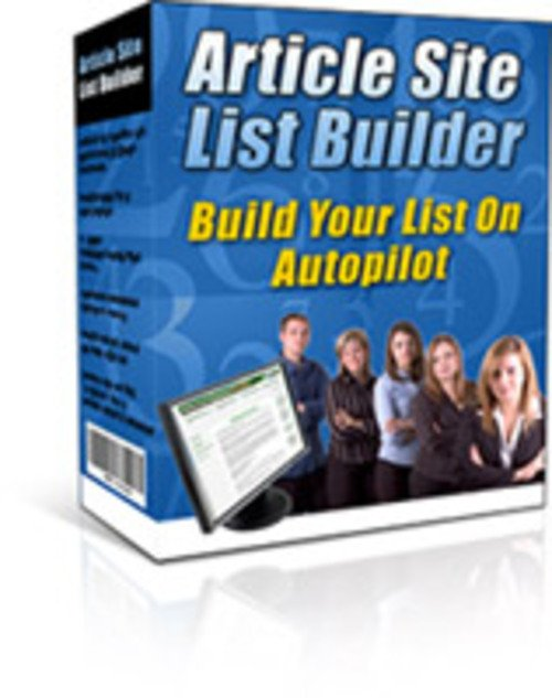 Product picture Article Site List Builder
