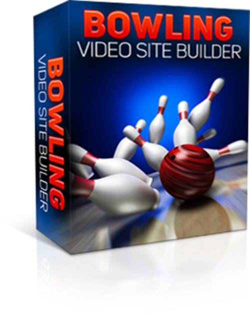 Product picture Bowling Video Site Builder